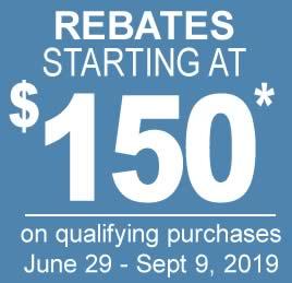 $100 Rebates