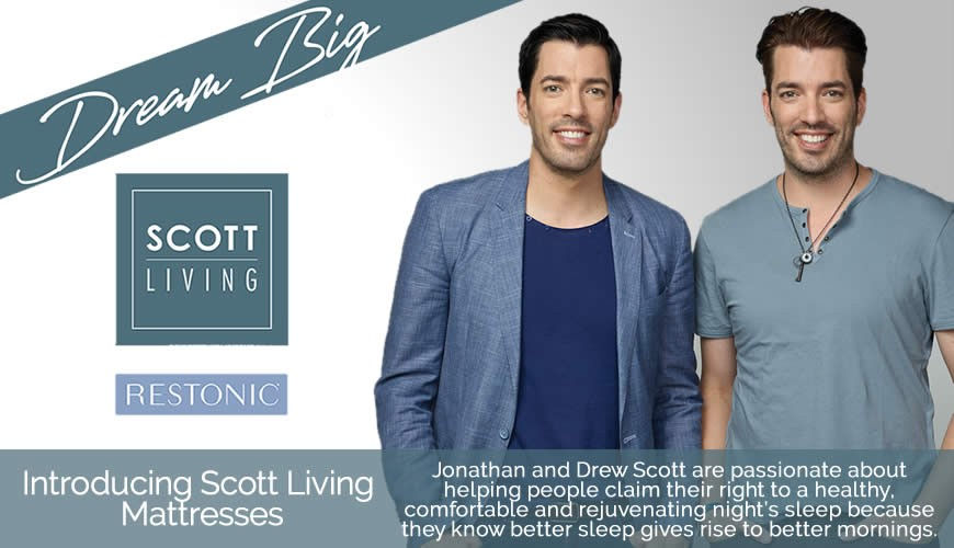 Introducing Scott Living Mattresses
