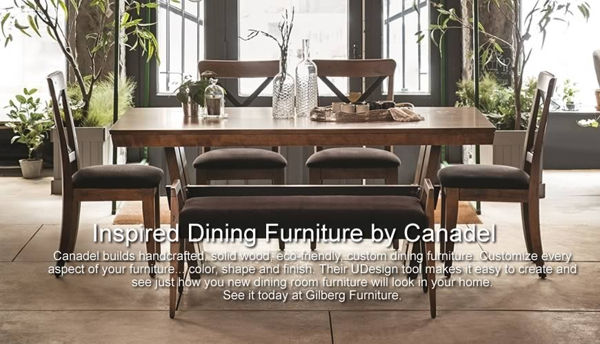 Canadel Custom Dining Room Furniture