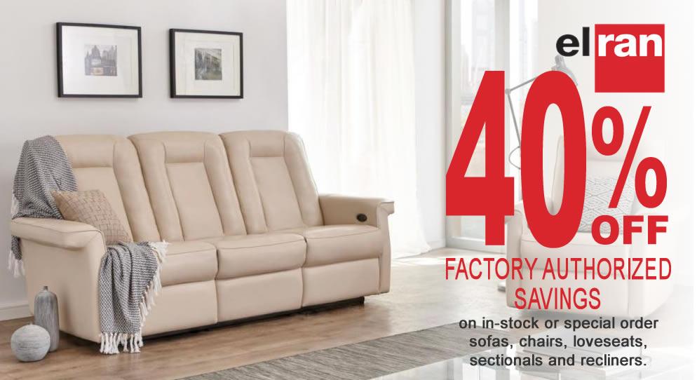 Elran Factory Authorized Savings